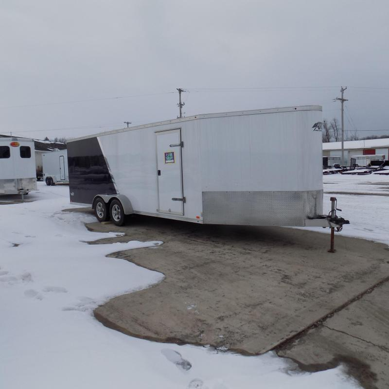 Used ATC 7' x 26' Aluminum Snowmobile Trailer For Sale - New Trade!