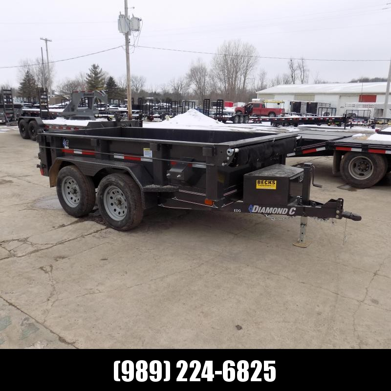 New Diamond C 5' x 10' Dump Trailer for Sale - $0 Down & $123/mo. W.A.C.