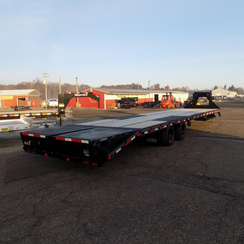 "New Diamond C Trailers 102"" x 40' Gooseneck Trailer - 25,900# Weight Rating - $0 Down Financing Available"