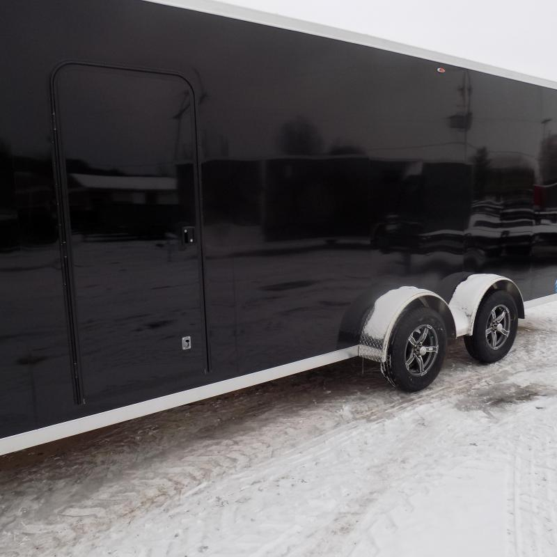 New Legend Thunder 7' x 27'  Aluminum Snowmobile Trailer - $0 Down & Payments from $129/mo. W.A.C. - Best Deal Guarantee