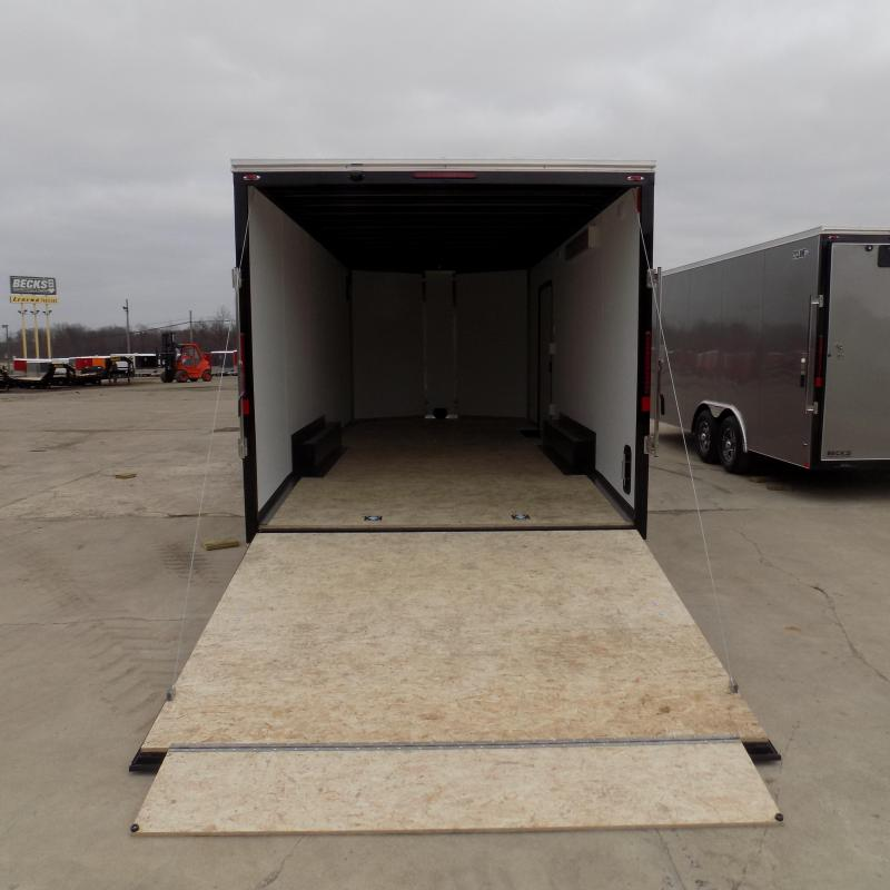 New Legend Cyclone 8.5' x 22' Enclosed Car Hauler / Cargo Trailer for Sale- $0 Down Payments From $110/Mo W.A.C.