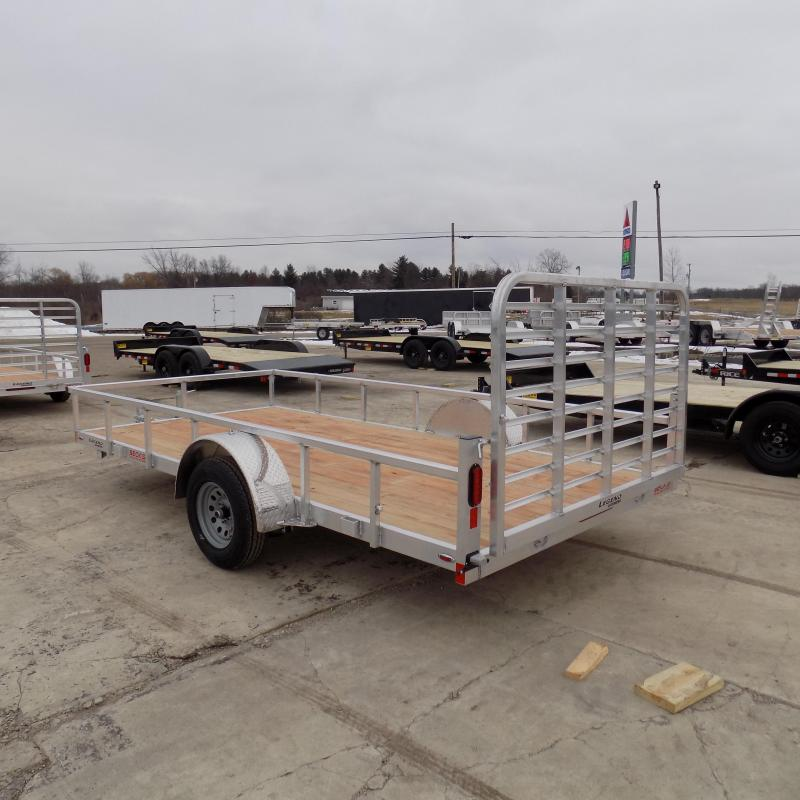 New Legend Open Deluxe 7' x 14' Aluminum Utility Trailer for Sale- $0 Down Payments from $60/Mo W.A.C.