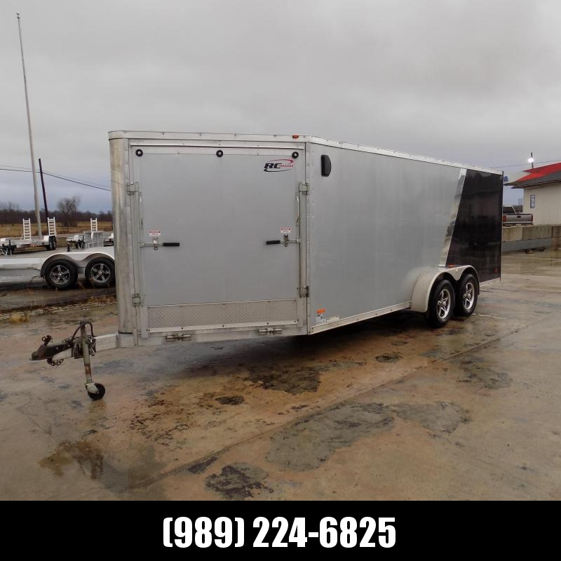 Used RC Trailers 7' x 23' Snowmobile Trailer For Sale - New Trade