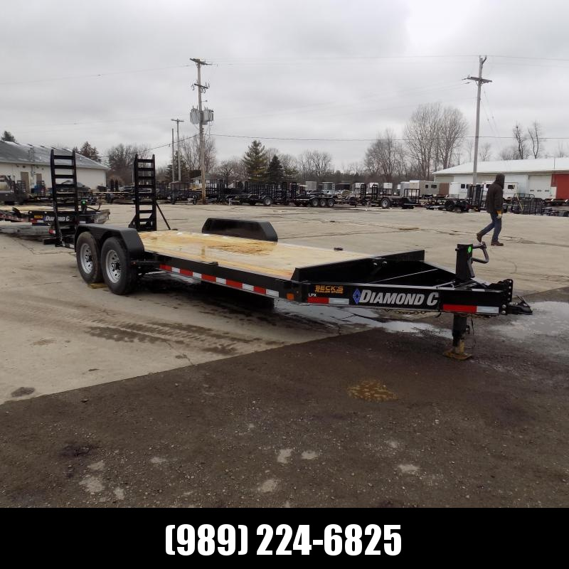 "New Diamond C Trailers 82"" x 20' Equipment Trailer For Sale - $0 Down & Payments from $113/mo. W.A.C."