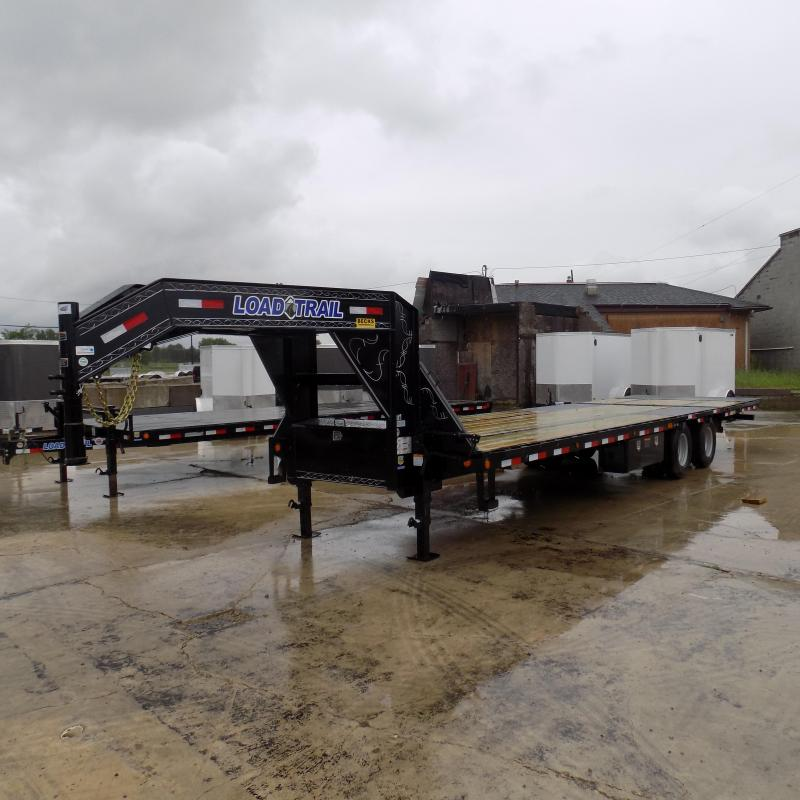 "New Load Trail 102"" x 32' Equipment Trailer With Hydraulic Dove"