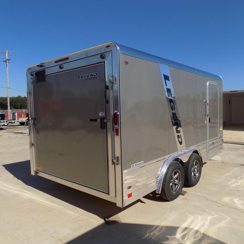New Legend Deluxe V-Nose 8' x 17' Enclosed Cargo Trailer For Sale
