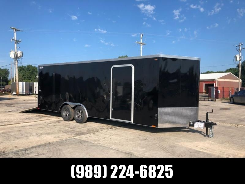 New Legend Cyclone 8.5' x 24' Enclosed Car Hauler / Cargo Trailer - CLEARANCE UNIT - NOT SUBSTITUATIONS