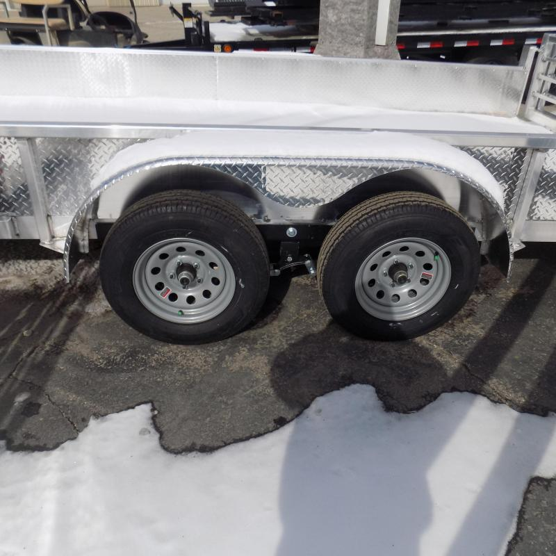 New Legend Open Deluxe 7' x 18' Aluminum Utility  - $0 Down & Payments From $105/mo. W.A.C.