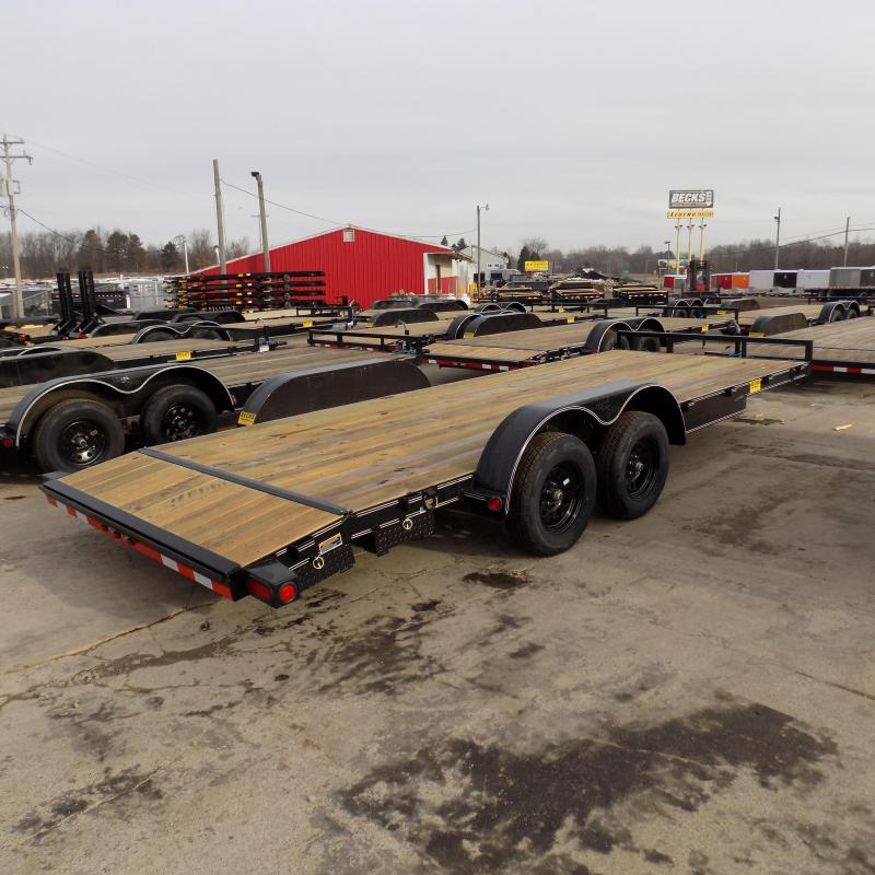 """New Load Trailer 83"""" x 20' Car Hauler Trailer For Sale - $0 Down & Payments from $70/mo. W.A.C."""