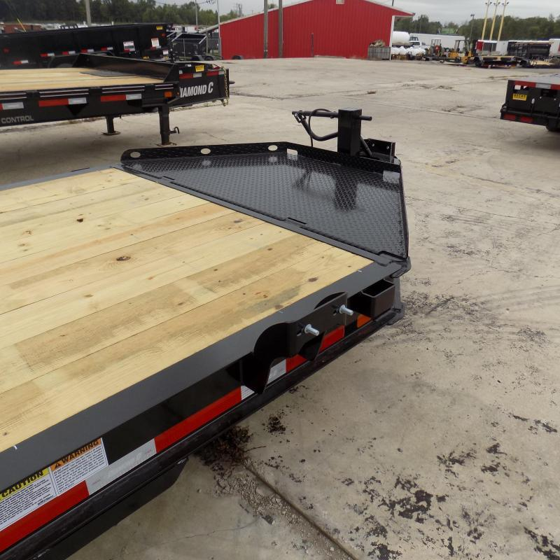 "New Diamond C Trailers 82"" x 22"" Tilt Deck Trailer - 24K Weight Rating - Payments From $115/mo. W.A.C."