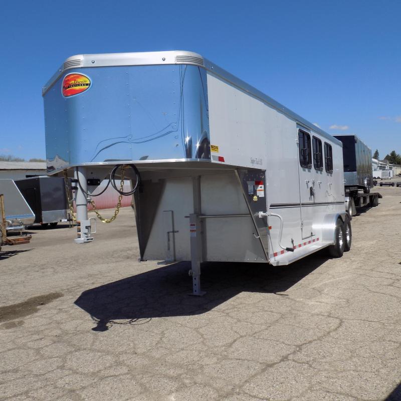 New Sundowner Super Sport Gooseneck 3 Horse Slant Load Trailer
