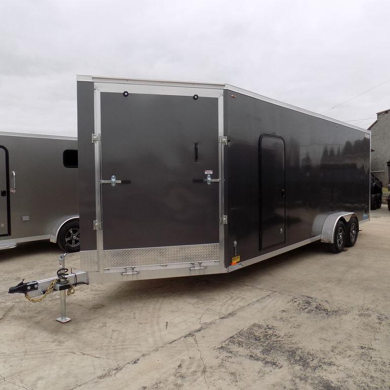 New Legend Thunder 7' x 27' Aluminum Snow / ATV Trailer For Sale