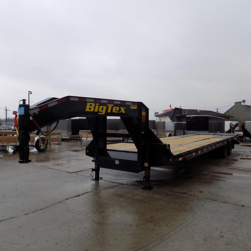 "Big Tex 102"" x 28' + 5' Gooseneck Trailer With Mega Ramps"