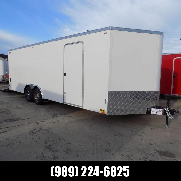 CONTACT US FOR BEST DEAL GUARANTEE! New Legend Cyclone 8.5' x 26' Enclosed Cargo Trailer for Sale - 5200# Torsion Axles