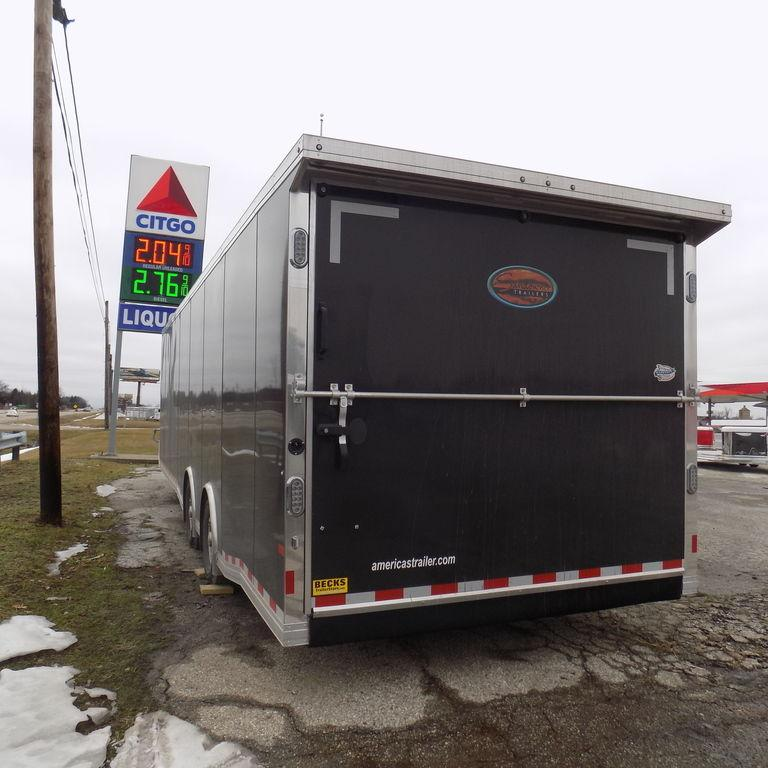 New Sundowner Trailers 30' XTRA Series Transporter Aluminum Gooseneck Trailer