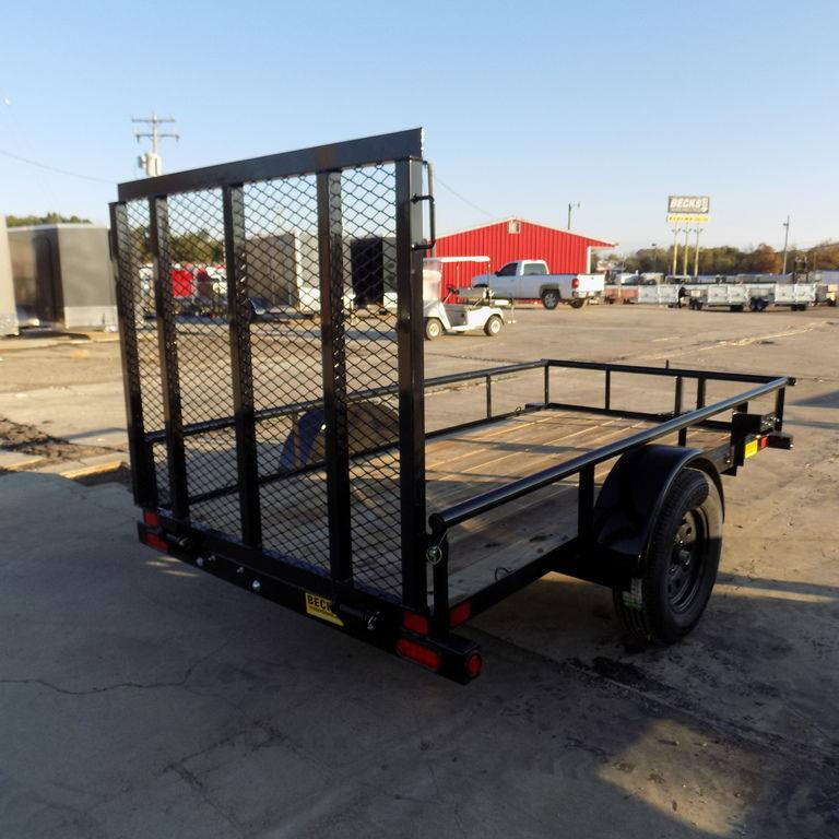 New BIG TEX 5' x 10' Utility Trailer - Payments $42/mo.