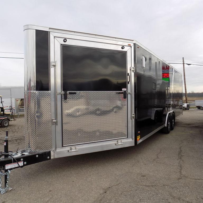 New Legend Trailmaster V-Nose 8.5' x 30' Aluminum Enclosed Car Hauler / All Sports Trailer