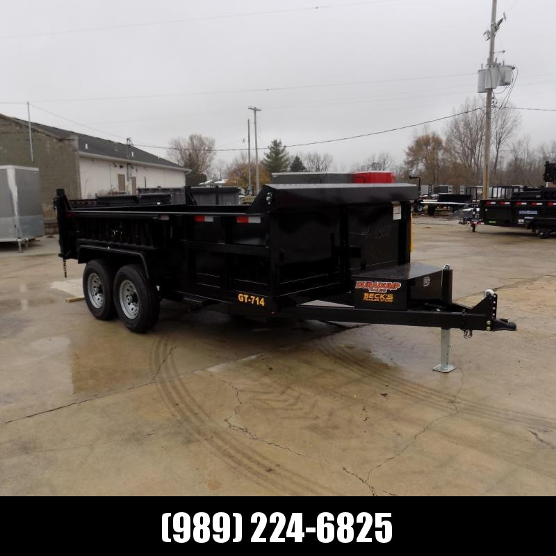 New DuraDump 7' x 14' Dump Trailer For Sale - $0 Down & Payments From $129/mo. W.A.C.