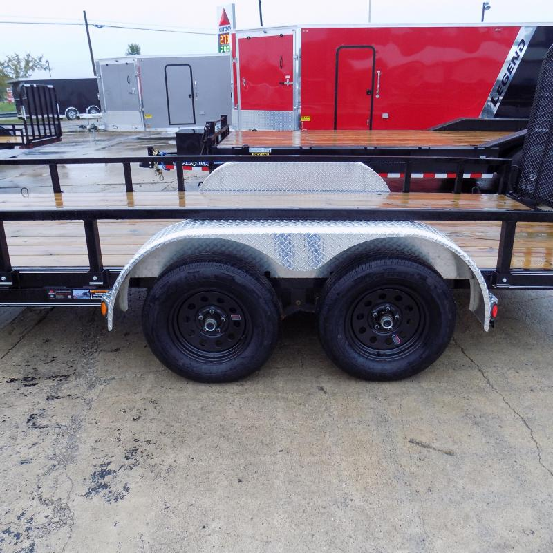 """New Load Trail UT 83"""" x 16' Open Utility Trailer for Sale - $0 Down & Payments $79/mo. W.A.C. - Best Deal Guarantee"""