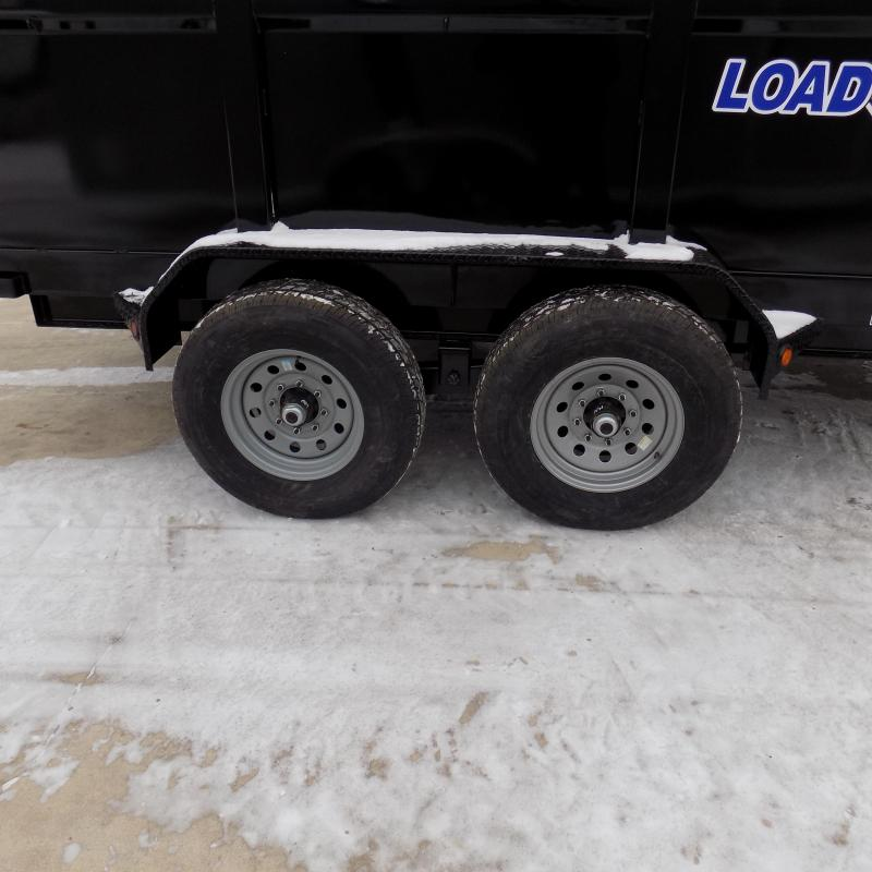"New Load Trail 83"" x 16' Dump Trailer For Sale - $0 Down & Payments From $135/mo. W.A.C."