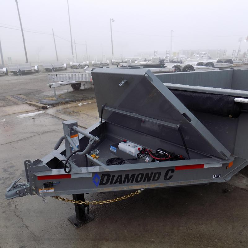 "New Diamond C 82"" x 14' Low Profile Dump Trailer For Sale - $0 Down & Payments from $139/mo. W.A.C."