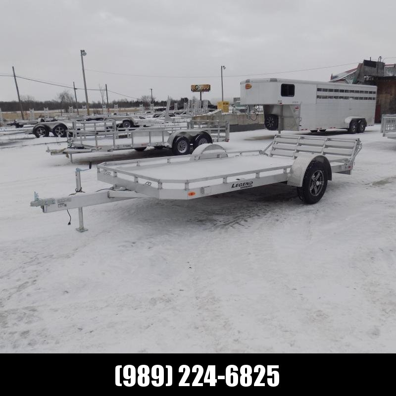 New Legend 7' x 14' Aluminum Open Utility Trailer - Pefect For UTVs - Lawn Mowers - Golf Carts & More! $0 Down & Payments From $89/mo. W.A.C.