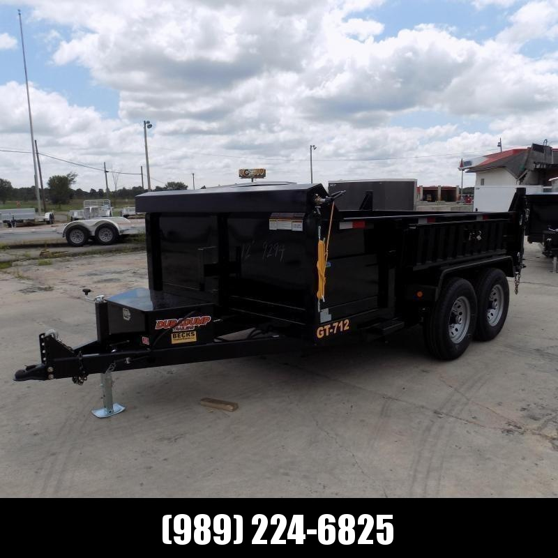 New DuraDump 7' x 12' Dump Trailer For Sale - Payment From $115/mo. With $0 Down W.A.C. - Best Deal Guarantee!
