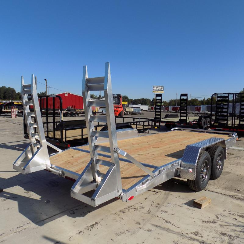 New Legend 7' x 18' Aluminum Equipment Trailer For Sale