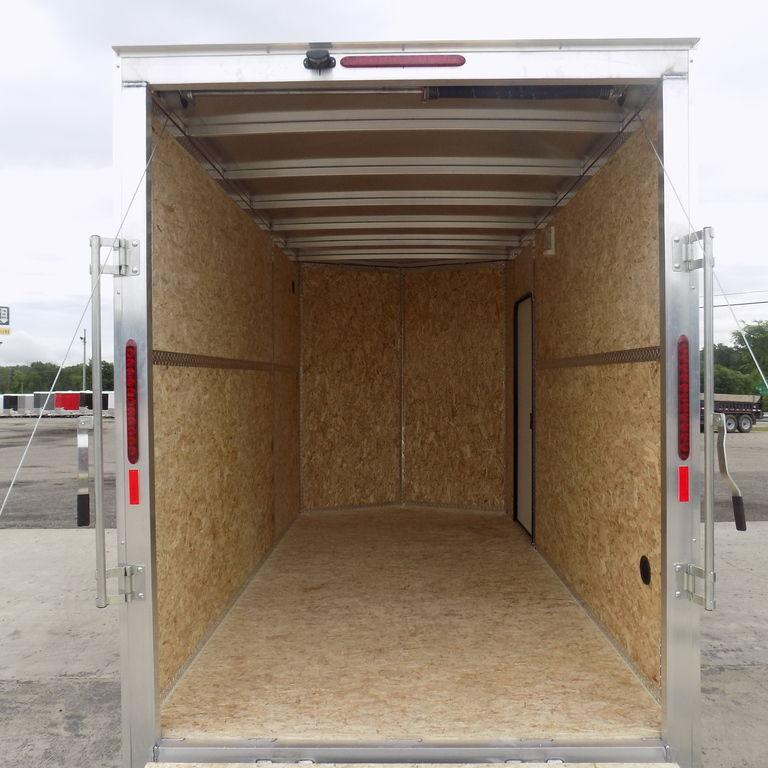 New Legend Thunder 6' x 13' All Aluminum Enclosed Cargo Trailer - Clearance