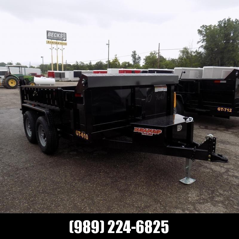 New DuraDump 6' x 10' Dump Trailer For Sale - Only $99/mo. & $0 Down Payment W.A.C. - CLEARANCE UNIT - NOT SUBSTITUATIONS