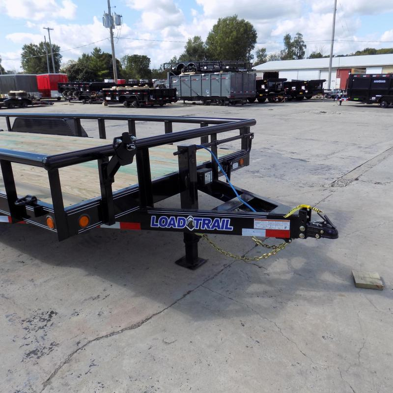 "New Load Trail 83"" x 20' Open Car/Equipment Trailer - $0 Down & Payments From $125/mo. W.A.C."