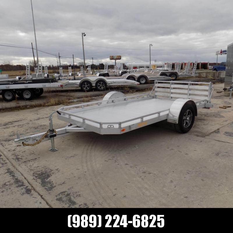 New Legend Trailer 7' X 12' Aluminum Deck Utility Trailer - Perfect for UTVS ATVs Golf Carts Mowers & More - $0 Down & Payment From $79/mo. W.A.C.