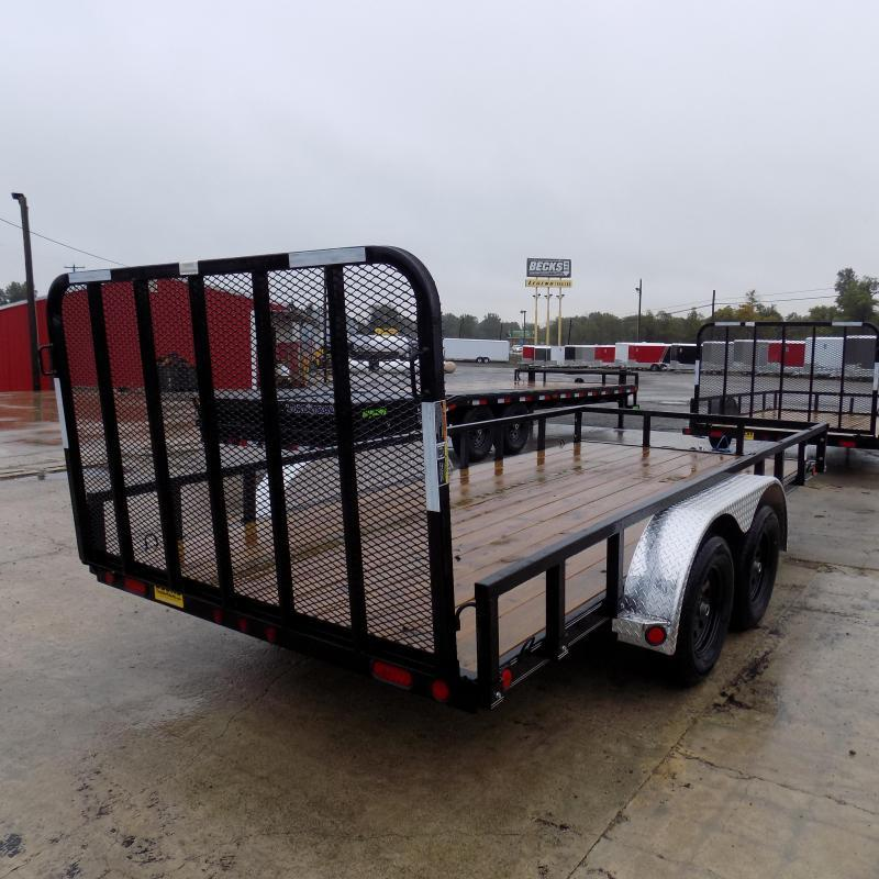 """New Load Trail UT 83"""" x 16' Open Utility Trailer for Sale - $0 Down & Payments $79/mo. W.A.C"""