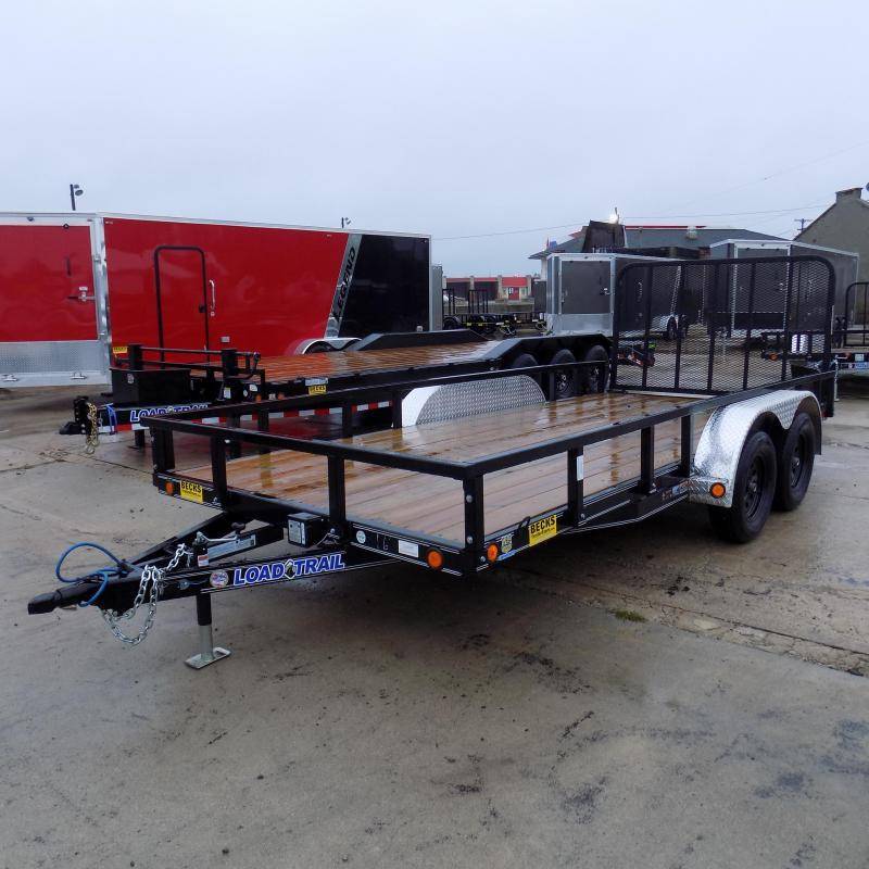 "New Load Trail UT 83"" x 16' Open Utility Trailer for Sale - $0 Down & Payments $79/mo. W.A.C"