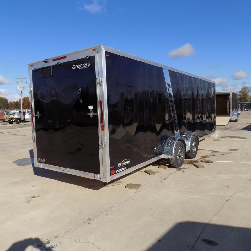 New Legend Explorer 7' x 29' Snowmobile Trailer - $0 Down & Payments From $163/mo. W.A.C - Best Deal Guarantee