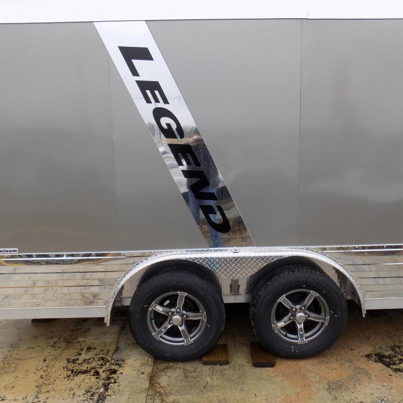 New Legend Deluxe V-Nose 8' x 19' Enclosed Cargo Trailer - $0 Down & $124/mo. W.A.C.