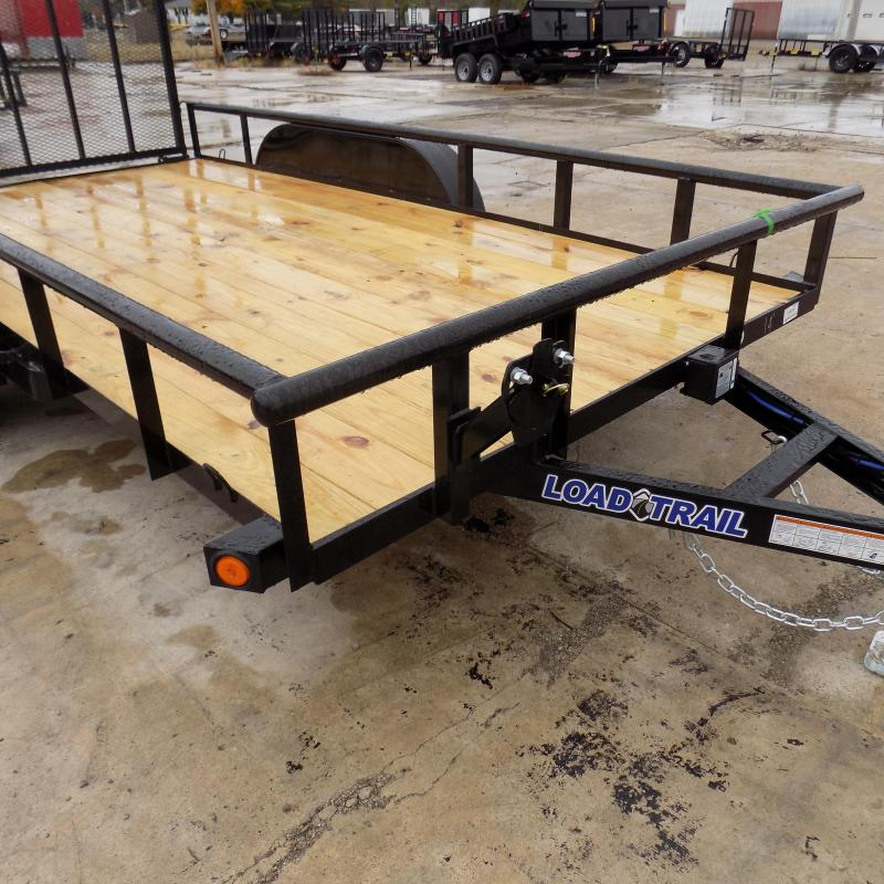 "New Load Trail UT 83"" x 14' Tandem Axle Open Utility Trailer for Sale - $0 Down & Payments $69/mo. W.A.C"