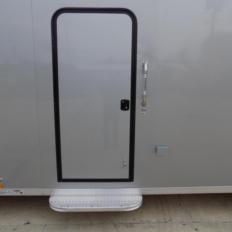 New Legend Explorer 7' x 27' Snowmobile Trailer - Payments From $165/mo. with $0 Down W.A.C - Best Deal Guarantee