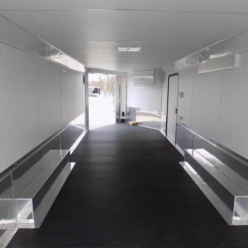 New Legend Trailmaster 8.5' x 32' Aluminum Enclosed Trailer - Perfect For UTVs-Snowmobile-Motorcycles & Cars - $0 Down Financing Available