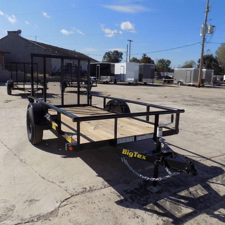 Used New BIG TEX 5' x 8' Utility Trailer - Used Only 1 Time!