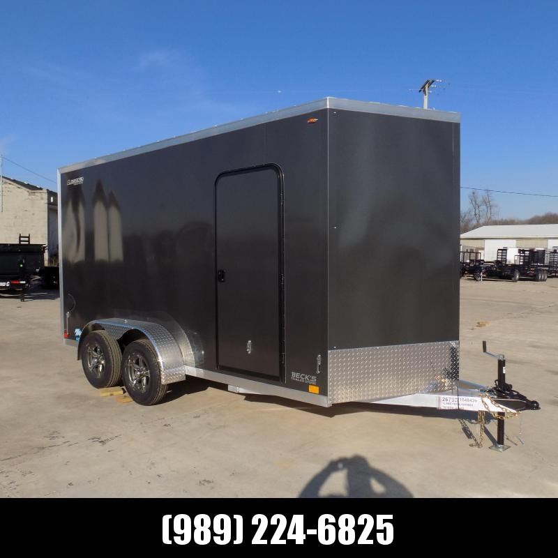 New Legend Thunder 7' X 16' Aluminum Enclosed Cargo Trailer For Sale - $0 Down Payments From $119/Mo W.A.C.