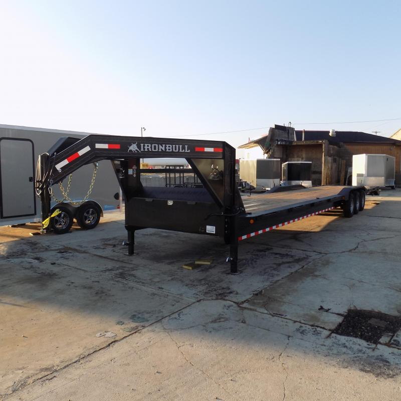 "New Iron Bull 102"" x 44' Car / Equipment Trailer  - $0 Dwon & Payments From $149/mo. W.A.C. - Best Deal Guarantee"
