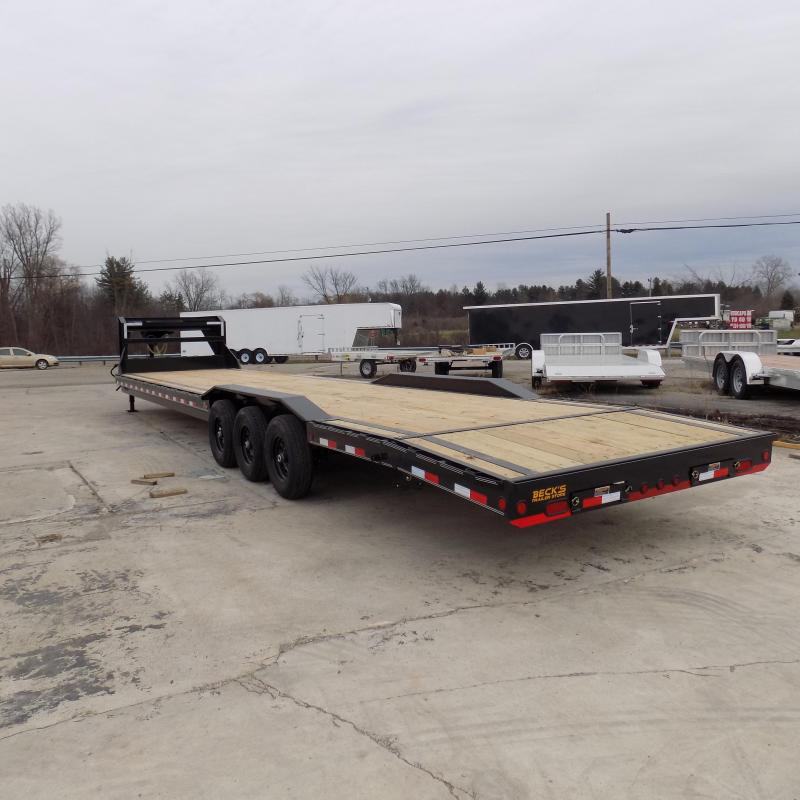 """New Load Trail 102"""" x 340"""" Triple Axle Gooseneck Car Hauler / Equipment Trailer - $0 Down & Payments From $139/mo. W.A.C."""
