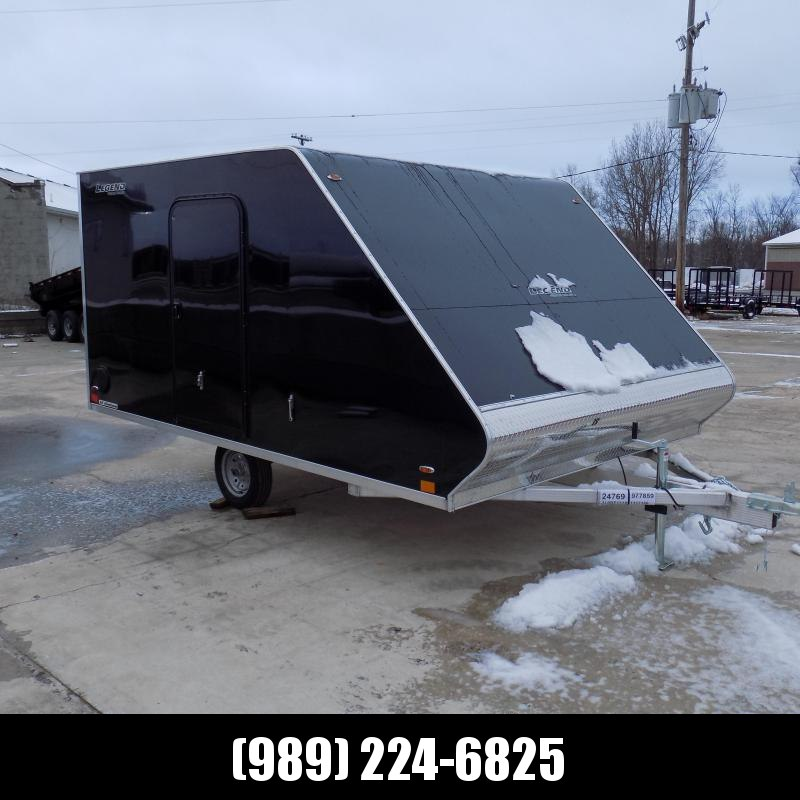 New Legend Trailers 8.5' x 13' Hybrid Snowmobile Trailer For Sale - Payments From Only $99/mo. W.A.C.