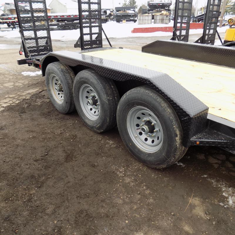 "New Diamond C Trailers 82"" x 22' Triple Axle Equipment Trailer For Sale W/ 20,570# Payload Capacity! $0 Down & Payments from $117/mo. W.A.C."
