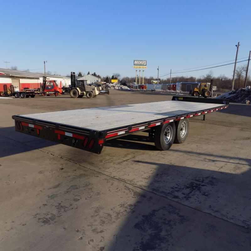 "New Diamond C Trailers 102"" x 24' Deckover Equipment Trailer For Sale - Payment From $117/mo. With $0 Down W.A.C."