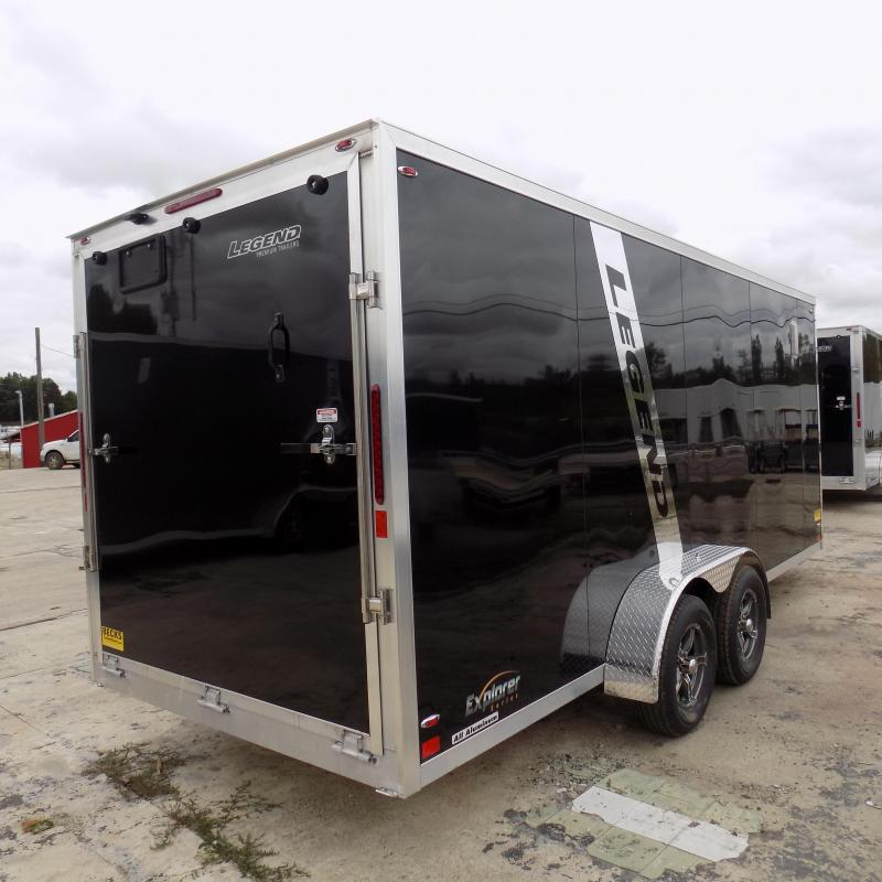 New Legend Explorer 7' x 23' Snowmobile Trailer - Payments From $145/mo. with $0 Down W.A.C - Best Deal Guarantee
