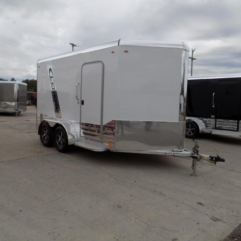 New Legend Trailers Deluxe V Nose 7' x 15' Aluminum Enclosed Cargo Trailer for Sale