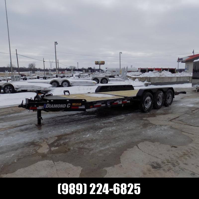 "New Diamond C Trailers 82"" x 22' Heavy-Duty Tilt Deck Equipment Trailer -  20,140# Payload Capacity - $0 Down & Payments from $129/mo. W.A.C."