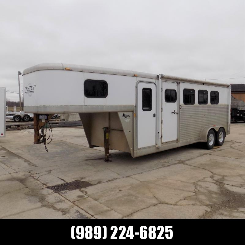 Used Exiss Trailers Slant Load 4 Horse Trailer For Sale
